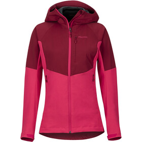 Marmot ROM Jacket Women sienna red/disco pink